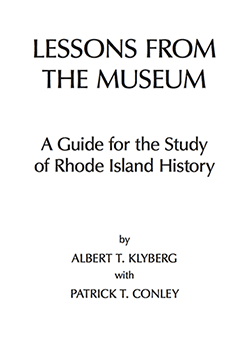 Guide for the study of Rhode Island history